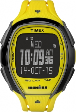 Timex Sleek 150 neon yellow 46mm
