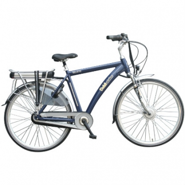 Dutchebike electric men's bike touring blue