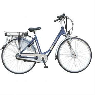Dutchebike electric ladies bike touring blue