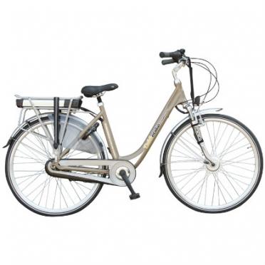 Dutchebike electric ladies bike touring mocha-brown