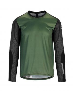 Assos Trail LS Jersey green men