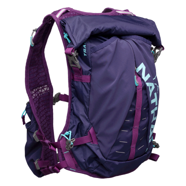 Nathan TrailMix 12L drinking backpack purple women