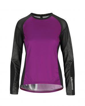 Assos Trail LS Jersey purple women