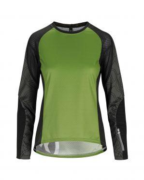 Assos Trail LS Jersey green women