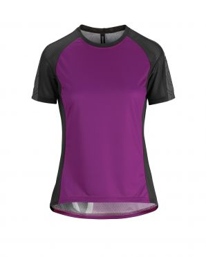 Assos Trail SS Jersey purple women