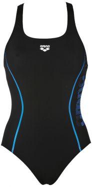 Arena Resistor swimsuit black/blue women