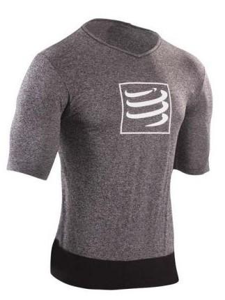 Compressport Training t-shirt grey men