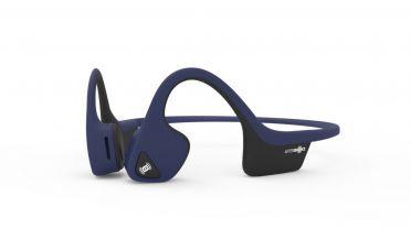Aftershokz Trekz air midnight blue sport headphone
