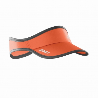 2XU Run Visor orange