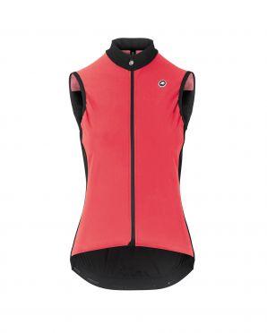 Assos Uma GT Spring fall Airblock vest pink women