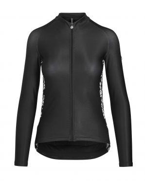 Assos UMA GT spring/fall LS jersey black woman