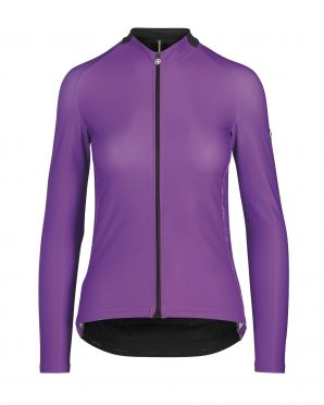 Assos UMA GT spring/fall LS jersey purple woman