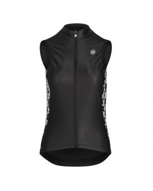 Assos Uma GT Spring/fall cycling vest black women