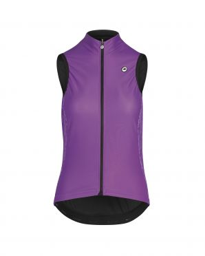 Assos Uma GT Spring/fall cycling vest purple women