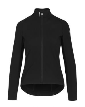 Assos Mille GT Ultraz winter EVO cycling jacket black woman