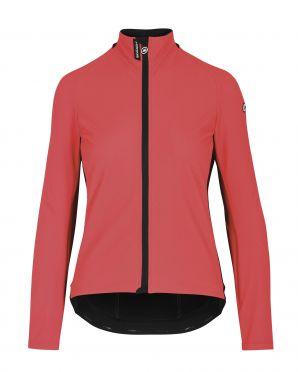 Assos Mille GT Ultraz winter EVO cycling jacket pink woman