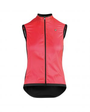 Assos Uma GT wind vest pink women