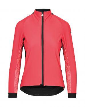 Assos Uma GT winter jacket pink women