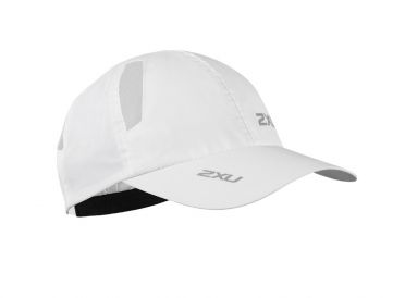 2XU Run Cap white