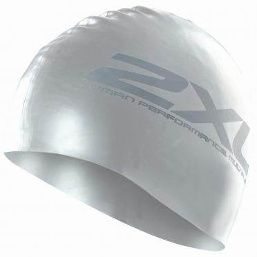 2XU Silicone swim cap silver