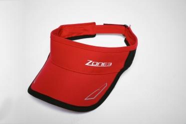 Zone3 Coolmax Race visor red/black