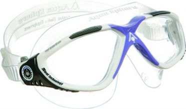 Aqua Sphere Vista Lady clear lens goggles silver/purple