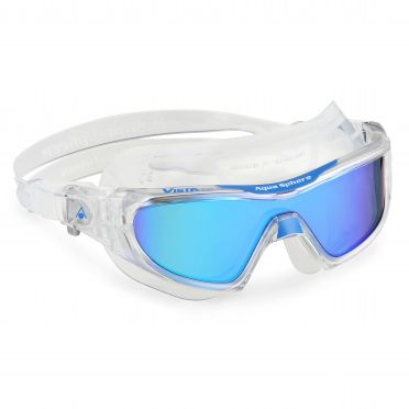 Aqua Sphere Vista Pro multilayer mirror lens goggles clear/blue