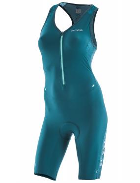 Orca 226 Perform race sleeveless trisuit blue/green women