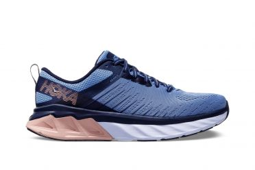 Hoka One One Arahi 3 wide running shoes purple/pink women