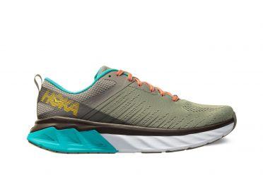Hoka One One Arahi 3 running shoes grey/blue women