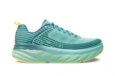 Hoka One One Bondi 6 running shoes green women