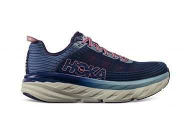 Hoka One One Bondi 6 running shoes purple/blue women