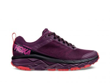 Hoka One One Challenger ATR 5 wide running shoes purple women