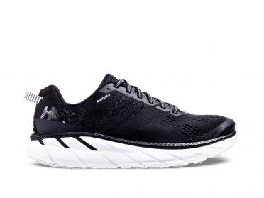 Hoka One One Clifton 6 running shoes black/white women