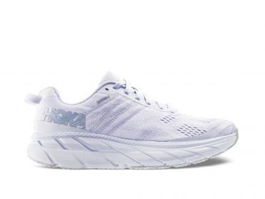 Hoka One One Clifton 6 running shoes white women