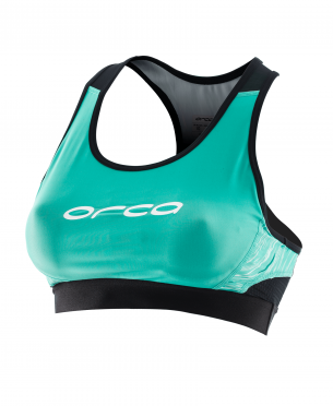 Orca Core Support bra green/black women