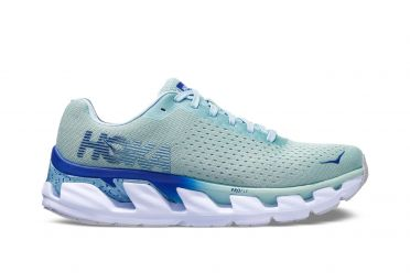 Hoka One One Elevon running shoes blue women