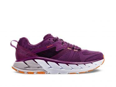 Hoka One One Gaviota 2 running shoes purple women