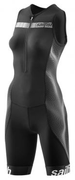Sailfish Competition trisuit black/grey women