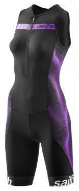 Sailfish Competition trisuit black/purple women