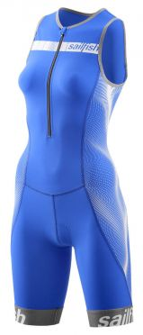 Sailfish Competition trisuit blue/white women