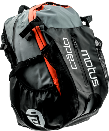 Cádomotus Waterflow racing bag black/orange