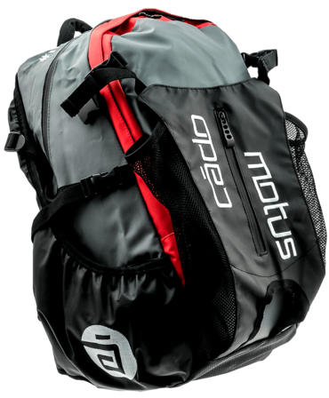 Cádomotus Waterflow racing bag black/red