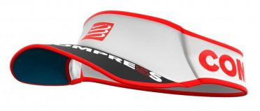 Compressport Ultralight running visor white