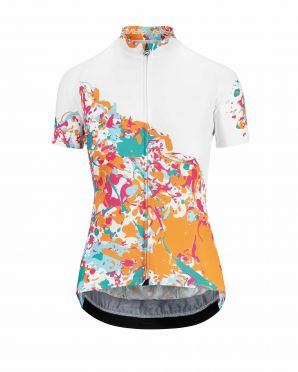 Assos Wild SS cycling jersey white/granita women