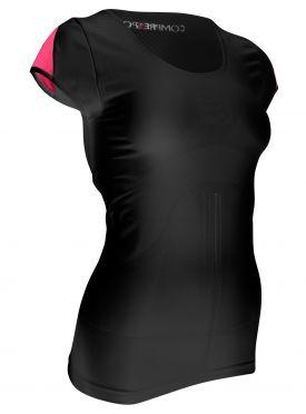 Compressport Trail running shirt v2 compression top black woman