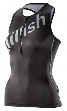 Sailfish Tri top black/silver women