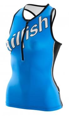 Sailfish Tri top blue women