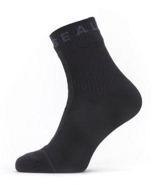 Sealskinz All weather cycling socks with Hydrostop black/grey