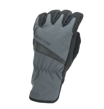SealSkinz All weather cycling gloves black/grey